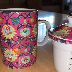 World market tea cup and steeper